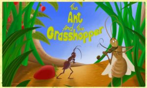 the ant and the grasshopper moral